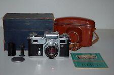 Kiev - 4 (tipo 3) Vintage 196 Fotocamera A Telemetro & Custodia. Scatola. serviti. 6730740