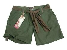 SHORT ARMY FEMME VERT OLIVE 100 % COTON RIPSTOP TAILLE M