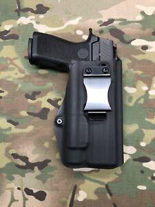 Black Kydex IWB Holster for SIG P320 Compact Streamlight TLR-1 / TLR- 1 HL