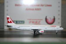 Phoenix 1:400 Swiss International Airbus A321-200 HB-IOH (PH4SWR210) Die-Cast