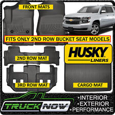 Husky Liners Front /& 2nd Seat Floor Liners Fits 15-19 Suburban//Yukon XL 99212