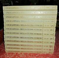Nuova Enciclopedia della Cucina CURCIO - 12  Volumi -
