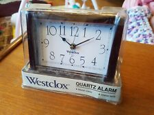 """Vintage """"Westclox"""" Electric """"Eloquence"""" Alarm Clock - New in Box (Old Stock)"""