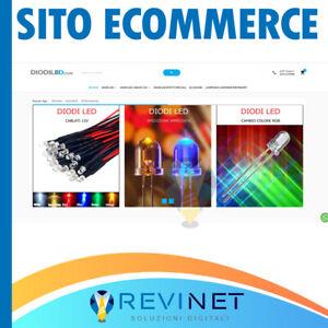 SITO ECOMMERCE 2021 SITI VENDITA ON LINE SITO INTERNET WEB NO CANONE OFFERTA