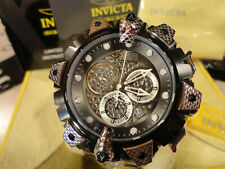 Invicta 32277 Reserve 52mm Venom Viper Swiss Chronograph S/S Bracelet Watch NEW