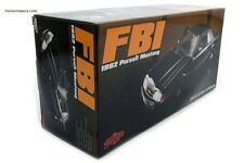 GMP Ford Mustang FBI Police Pursuit 1992 Black 1/18 SEALED PERFECT GMP 18805 NEW