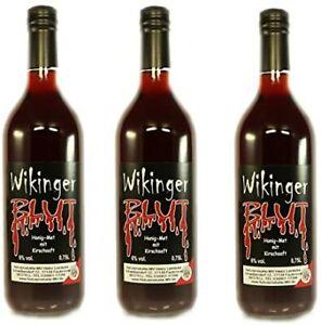 Wikingerblut Honigwein 3er-Paket (3 Flaschen á 0,75l)  Met
