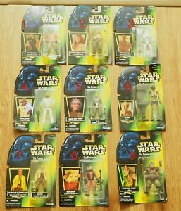 Pick 1x Star Wars Kenner Action Figure 1996 Power of the Force Never Opened Toys