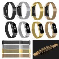 Magnetische Edelstahl Armband Uhr Strap Watchband Ersatz Für Xiaomi Mi Band 3/4