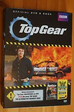 BBC Top Gear Official DVD and Book Boxset Great for Fan