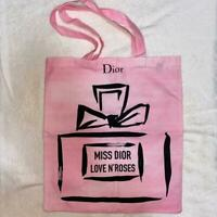 Miss Dior Christian Dior Japan Tokyo Exhibition Limited Edition Pink Tote Bag