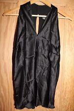 Victoria's Secret Black Silk Top Size Med BNWT