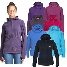 Trespass Marathon Women's Long Sleeve Hiking Hoodie Lightweight Ladies Fleece