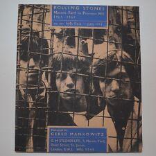 ROLLING STONES - MASON'S YARD TO PRIMROSE HILL 65-67 - 1995 BOOK GENESIS PUBL.