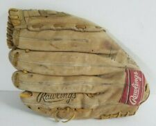 """Rawlings 14"""" Super Size Leather Softball Glove RSGXL RHT Right-Handed Fastback"""