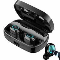 Wireless Bluetooth 5.0 Earbuds Earphones Headset Noise Cancelling Waterproof