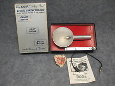 Vintage Kalart Safety First De Luxe Compak Speed Flash Light w/ Instructions