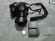 Panasonic Lumix FZ300, 4K 24x f2.8 Long Zoom Digital Camera - Black