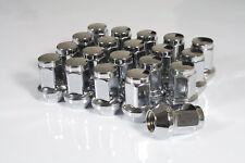 20 x Chrome Hex Wheel Nuts M12x1.5 Fits Mitsubishi Colt Carisma Space Star