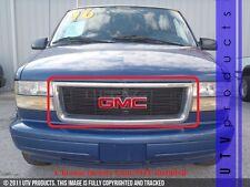 GTG 1995 - 2005 GMC Safari Van 1PC Gloss Black Overlay Billet Grille Grill