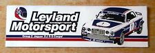 Leyland Motorsport Jaguar XJ 5.3 Coupe Racing Sticker / Decal