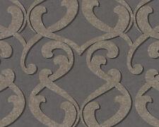 A.S. Creation Tapete  Barock Grau Metallics 8741-53 - NEU