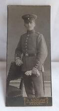 Militaria Cabinet Foto Soldat Uniform Degen um 1900  Passau