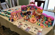 1996~Melanie's Mall~Virtually Complete~21 Dolls~Working Escalator~Pet Shop~Jute