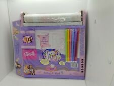 2004 Barbie Princess & The Pauper Rolling Art Desk, New Factory Sealed, Rare!