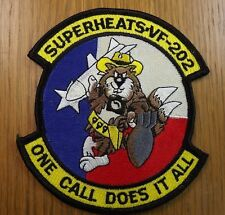 003 - Superheats-VF-202, One Call Does it All - Aviation Fighter Squadron patch