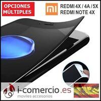 Protector Cristal Templado ELASTICO 3D CURVO Xiaomi Redmi Note 4 4X 4A Mi 5X/A1