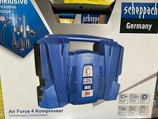 Scheppach Kompressor Air Force 4 1100W 8bar 180l/min inkl.  Zubehör, 96dB
