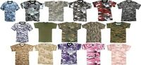 Kids Short Sleeve T-Shirt Military Camouflage t shirt camo Rothco