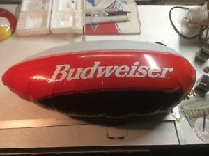 Extremely RARE! Bud One Airship Remote Control Budweiser 4ft Promotional Blimp!