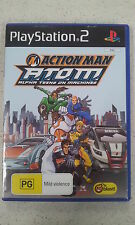 Action Man A.T.O.M ATOM Alpha Teens On Machines PS2 Australian Version