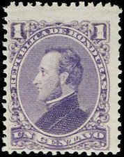 Scott # 30 - 1878 - ' President Francisco Morazan '