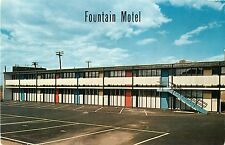A View of the Fountain Motel, 2810 Paterson Plank Road, North Bergen NJ