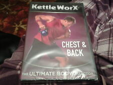 dvd fitness health kettle worx chest and back ultimate body collection new seale