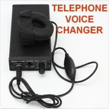 Telephone Voice Changer Professional Disguiser Phone Transformer Spy Bug Change