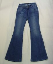 Authentic Bebe Sexy Jeans size 24 Waist 24 Inseam 33 New Blue