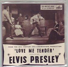 ELVIS LOVE ME TENDER  HMV EP ON COLOURED VINYL LIMITED EDITION NOW DELETED