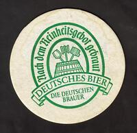 BD , Bierdeckel , Die Deutschen Brauer - Deutsches Bier