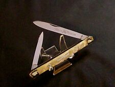 """Fight'n Rooster Melon Knife """"Mother Of Pearl"""" 1970's Frank Buster Cut Co Rare"""