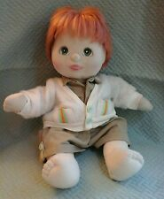 My Child doll RARE boy with red hair & green eyes Original outfit VGUC