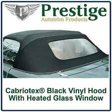 Mazda MX5 MK2 Vinyl Car Hood Glass Window Hoods Soft Top Roof Roofs 1998-2005