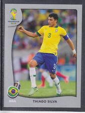 Panini - Brazil 2014 World Cup - # P3 Thiago Silva - Brasil - Platinum