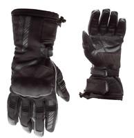 RST Atlas CE Mens Black Textile Waterproof Motorbike Motorcycle Gloves