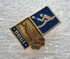 Olympic Games 80 Moscow Pin Badge Rowing from set Olympics 1980 USSR