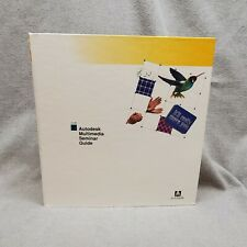 Vintage Autodesk Multimedia Seminar Guide 5.25 Floppy