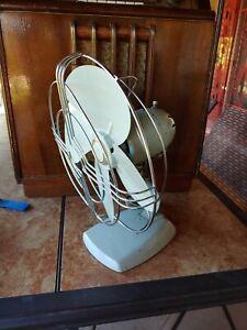 """1940's Vintage Knapp-Monarch """"Jack Frost"""" Metal Electric Fan - Works Great!"""